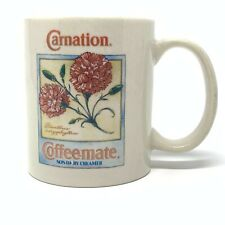 Carnation Coffee-Mate Collector Series Botanical Cup Mug 1993 Dianthus Flower