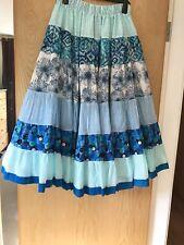Belly Dance, ATS, Gypsy Festival Full Skirt- Cotton