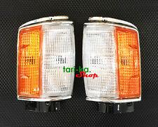 Front Corner Turn Signal Lights For 1984-88 Toyota Hilux LN60 LN61 N65 YN65 4WD