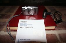 Olympus VR-370 digital camera in excellent condition includes charging cable