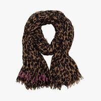 Louis Vuitton Cashmere Silk Stephen Sprouse Leopard Stole Brown