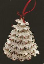 Crochet Pattern ~ CHRISTMAS TREE ORNAMENT ~ Instructions