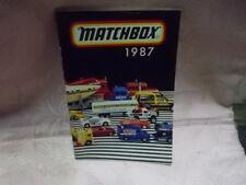 Matchbox Katalog 1987