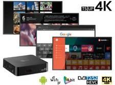 Decoder Digitale Terrestre e SAT SMART TV TELESYSTEM - TS UP 4K ANDROID T2/S2