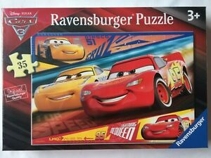 Brand New Ravensburger 35 Large Piece Jigsaw Puzzle - DISNEY PIXAR CARS 3