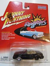 JOHNNY LIGHTNING RAGTOPS 1992 CADILLAC ALLANTE BLACK - WHEEL ERROR