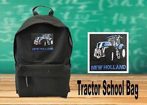 Unisex Boys Girls School New Holland Backpack Travel Rucksack Shoulder Bag NEW