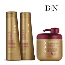 JOICO K-PAK Colour Therapy Shampoo & Balsamo 300ML e lucentezza LOCK 500ML