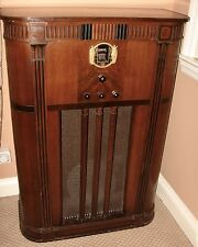 Antique Philco Console Radio Model # 18X  Manufactured 1933-34