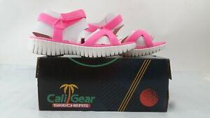 NEW Skechers Women's Cali Gear Sport Sandal, Neon Pink, 9 M US Shoes