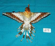"Hummingbird Barrette 4"" Beaded French Clip closure Fair trade beadwork #24"