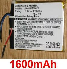 Batterie 1600mAh Für Archos 43 Internet Tablette, A43IT, art L04041200625