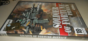 PC-DVD- ROM   SOLDIER OF FORTUNE PAYBACK -
