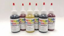 DyeMaster Sublimation Ink, 6-Color Combo Pack, 4 oz. (120ml) x 6 bottles