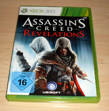 Microsoft Xbox 360 juego Game-figuras assassins creed Revelations-completo alemán