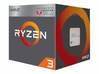 NEW! AMD YD2200C5FBBOX Ryzen 3 2200G 3.5 Ghz 4 Cores 4 Threads 2 Mb Cache Socket