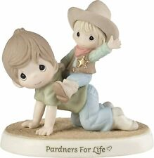 Precious Moments Pardners For Life 193018*Nib*Figurine Dad and Son
