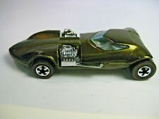 Hot Wheels 25th Anniversary Car, Dual Engine, Metallic Golden Brown, 1969