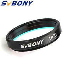 "SVBONY 1.25"" High Contrast UHC Nebula Filters Cuts Light Pollution Multi-layer"