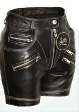 Leder-Short soft ECHTLEDER sexy Hot Pants für Damen