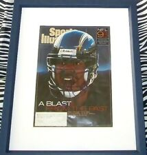 Junior Seau autographed signed Chargers 1993 Sports Illustrated SI custom framed