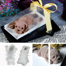 Silicone Lovely 3D Shar Pei Dog Mould Mousse Mold Fondant Tool Cake Decor