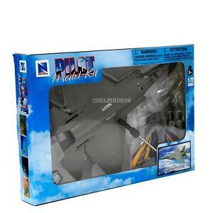 Lockheed F-35C Lightning II US Navy Fighter Jet New-Ray 1:72 Sky Pilot Model Kit