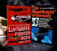 2 SC'S *1) LUFTWAFFE FIGHTER ACES **2) BLOND KNIGHT: GERMANY'S TOP FIGHTER ACE
