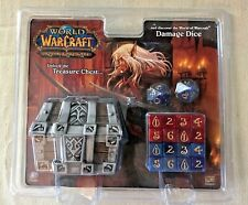 World Of Warcraft WoW TCG Treasure Chest Damage Dice NEW NIP