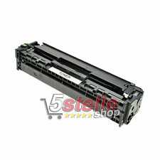 TONER NERO PER HP COLOR LASERJET CP 2025 2025DN 2025N 2025X CARTUCCIA REMAN