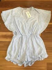 SZ 12 MISS SHOP PLAYSUIT NWT  *BUY FIVE OR MORE ITEMS GET FREE POST
