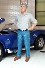 70 `s Homme Stefan Figurine Figurines conducteur 1 24 American Diorama V N° car