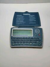 Franklin Merriam Webster Blue Electronic Dictionary Thesaurus Model Mwd-1450