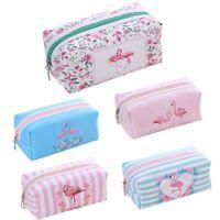 Women Fashion Flamingo Cosmetic Storage Bag Zipper Pouch Toiletry Coin Handbag