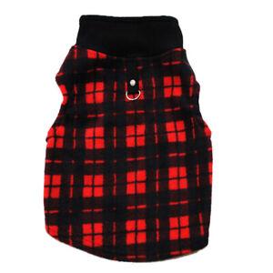 Pet Small Dog Fleece Vest Jumper Sweater Coat Winter Puppy Shirt Jacket Apparel
