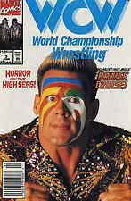 WCW World Championship Wrestling #3 (Newsstand) VF; Marvel | save on shipping -