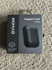 NOMAD Rugged Apple AirPods Case - Black - New Horween Leather NM72110000