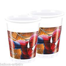8 Marvel The Amazing Spider-man 2 Película Partido Desechables 200ml Tazas De Plástico