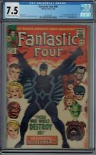 CGC 7.5 FANTASTIC FOUR #46 1ST FULL APPEARANCE & COVER OF BLACK BOLT OW/W PAGES