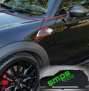 Mini R56 Decal Scuttle Kit JCW Cooper S R55 R59 R58 R57 *SMPS2012*