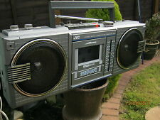 JVC RC-660LB Lettore Di Cassette Radio Boombox modello completamente funzionante