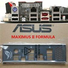 original ASUS I/O IO SHIELD for MAXIMUS II FORMULA backplate