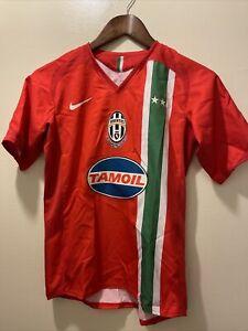 Juventus 2005/06 Away Soccer Jersey Youth Medium 12 Nike Serie A Camiseta Shirt