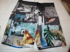 Men's american Eagle Outfitters swim board shorts M pre-owned GUC <>
