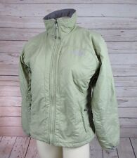 The North Face Womens Puffer Coat Green Primaloft Jacket S Insulated Lightweight