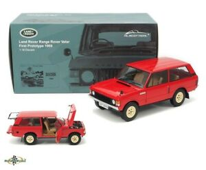 Range Rover First Prototype red diecast 1:18 Almost Real