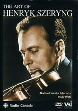 The Art of Henryk Szeryng (Bouillon, Pca) [With Bonus CD] [1988][Region 2]