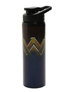 DC Wonder Woman Logo Stainless Steel Water Bottle