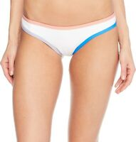 Tavik Jayden Moderate Swim Bottom Color Blocked White/Coral size Small 179704