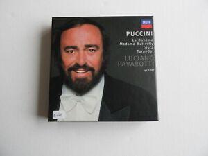 Luciano Pavarotti - Puccini - La Boheme, Madams Butterfly, etc - 9 CD Set (2).